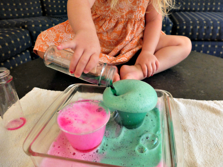Volcano Activities and Crafts for preschool age children