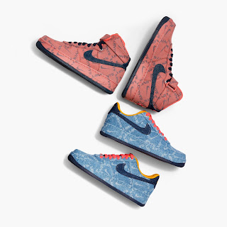 Air Force 1 High, Air Force 1 Low, Air Max 90, NIKE BY LEVI'S, Levi's Red Tab, sneakers, jeans, vaqueros, zapatillas, moda, on shoes, mens sneakers, women sneakers,