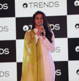 Keerthy Suresh with Cute and Lovely Smile at Reliance Trends
