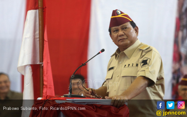 Prabowo: Maaf, Negara Ini Hidupnya dari Utang