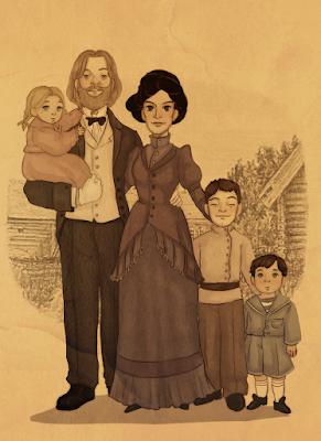Семейство Дъмбълдор - фенарт