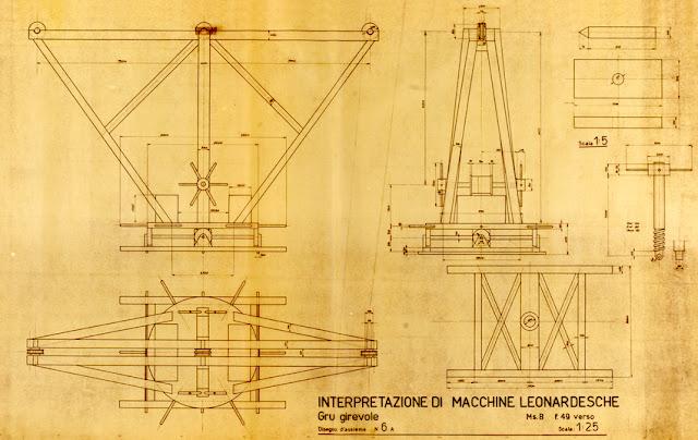 Leonardo Da Vinci Crane