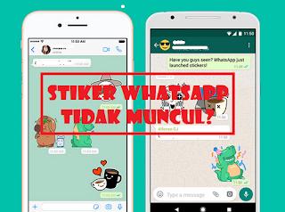 Mengapa Stiker WhatsApp Tidak Muncul?