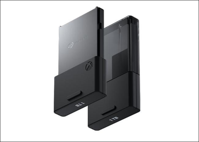 بطاقة توسيع Seagate لأجهزة Xbox Series X و S.