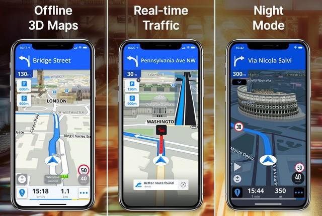 أفضل برنامج GPS والملاحة للايفون