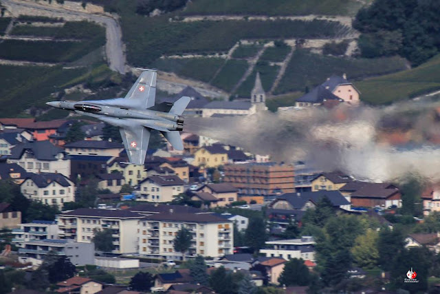 Swiss F-18 Hornet upgrade