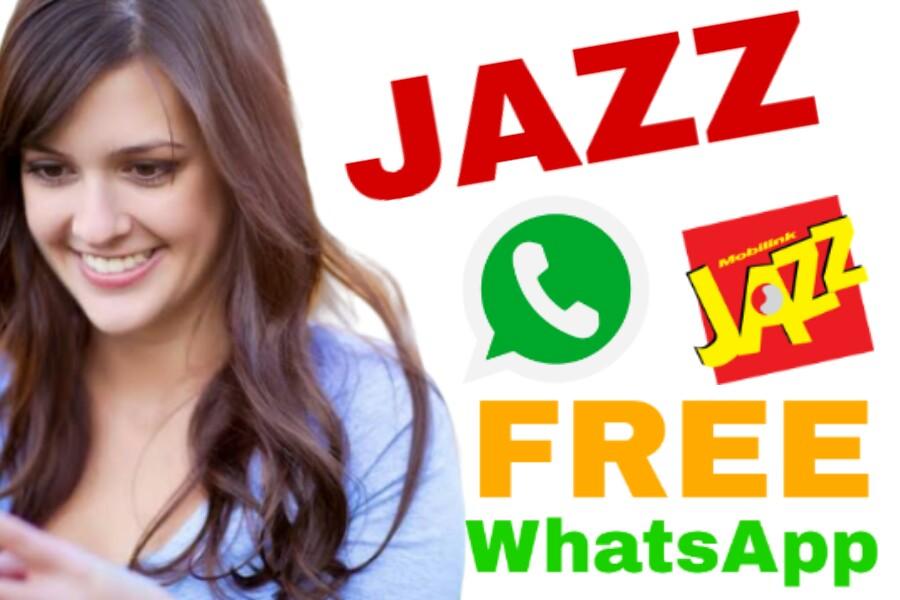 Jazz Free WhatsApp Code, Jazz Free WhatsApp Offer