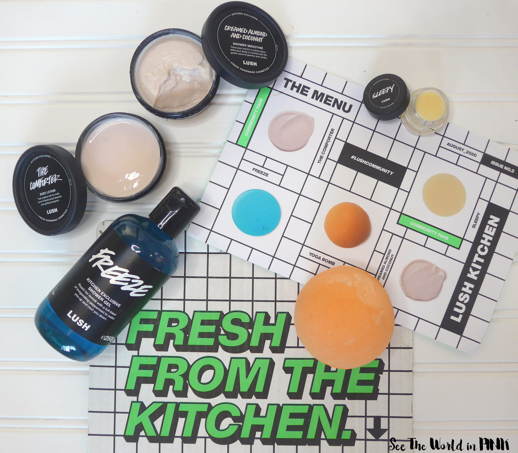 July 2020 - Lush Kitchen Subscription Box