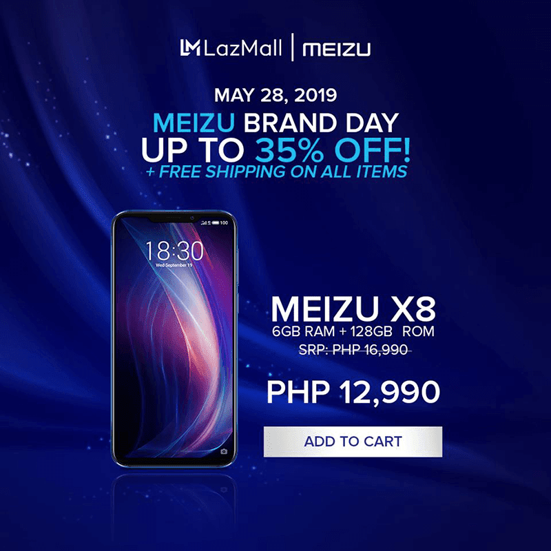 Meizu announces May 28 brand day sale with up to 35 percent off on select phones