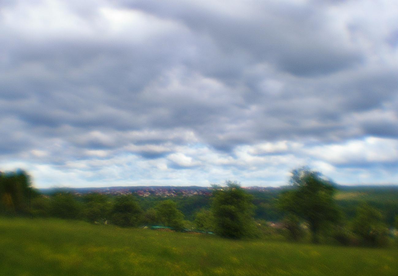Bilder mit dem Kollimator-Selbstbau-Objektiv #17 — Zum Tagesabschluss — Traumwolken