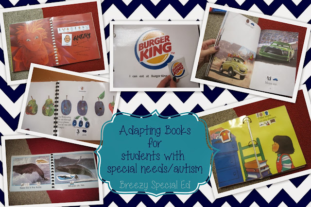 Adapting Books for Special Needs Students