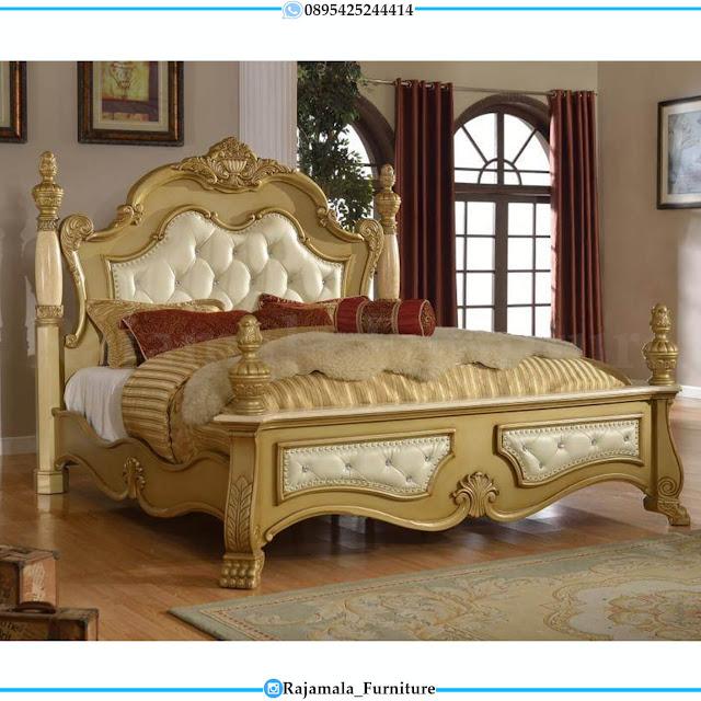 Set Tempat Tidur Mewah Luxury Classic Furniture Jepara RM-0450