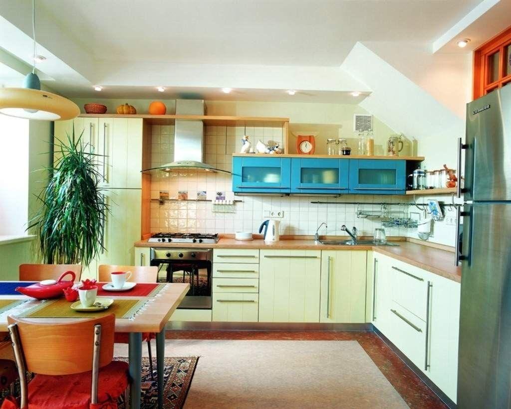 Gambar Desain Interior Dapur Sempit Modern