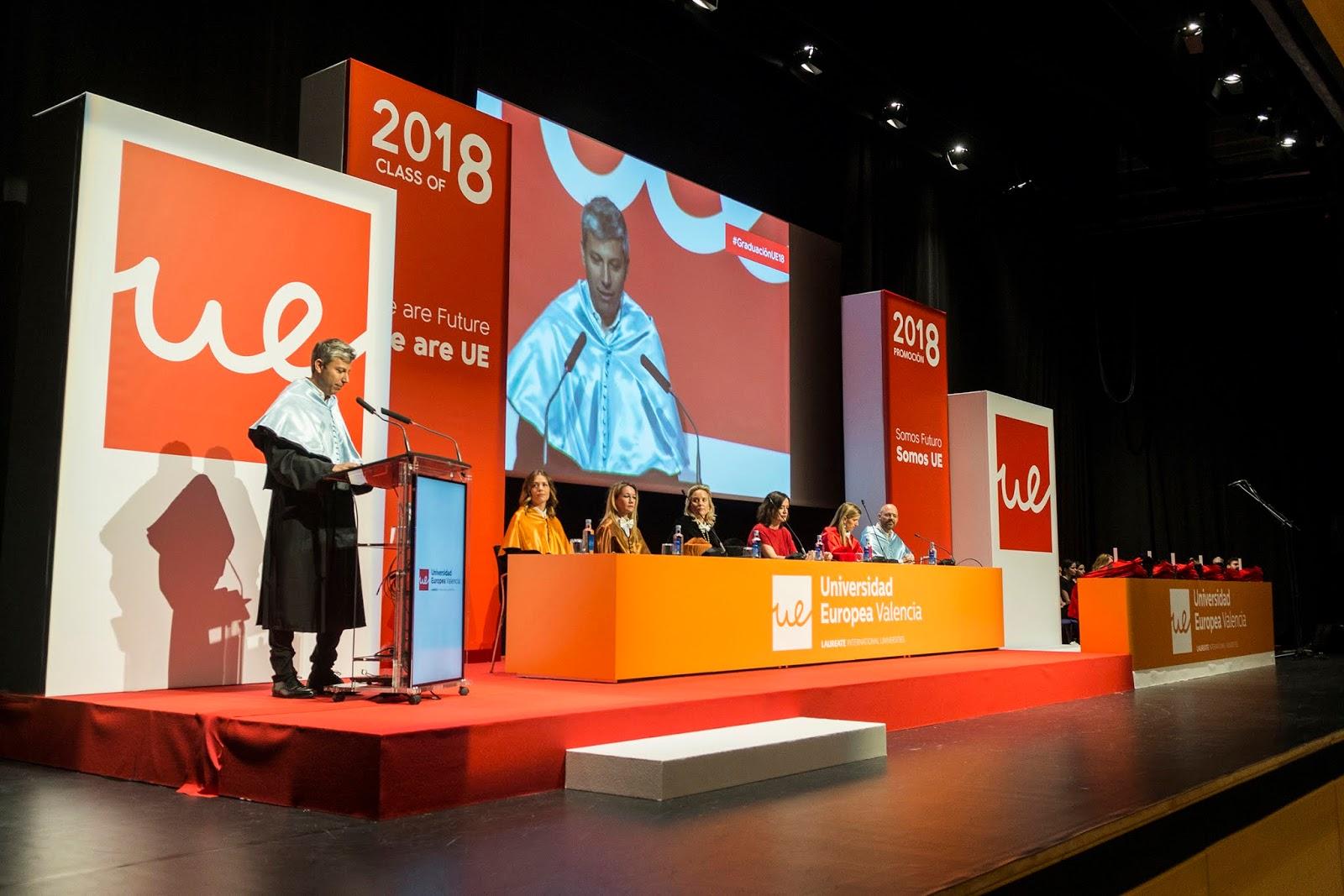 Graduación De La Universidad Europea De Valencia En El