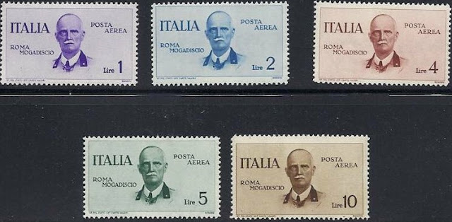 Italy 1934 Victor Emmanuel Airmail