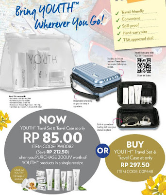 Promosi Shaklee Disember 2019  Youth Travel/Trial Set
