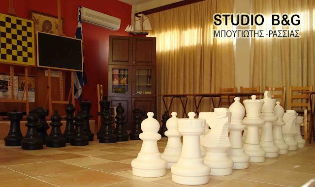 Ανακοίνωση του  Σκακιστικού Συλλόγου Ναυπλίου «Ο ΑΓΙΟΣ ΝΕΚΤΑΡΙΟΣ»