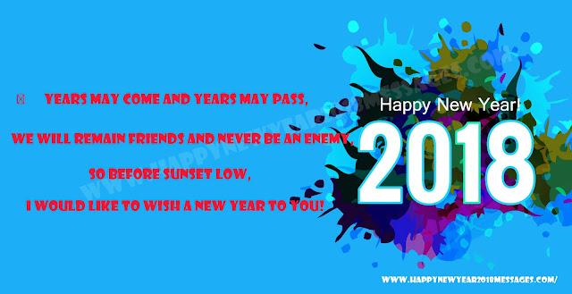 Happy New Year 2018 Facebook