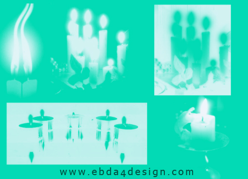 تحميل فرش شموع للفوتوشوب مجاناً, Photoshop Brushs free Download, Candles Photoshop Brushs free Download