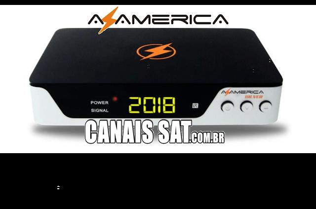 Azamerica Silver HD Nova Atualização V1.34 - 05/06/2020
