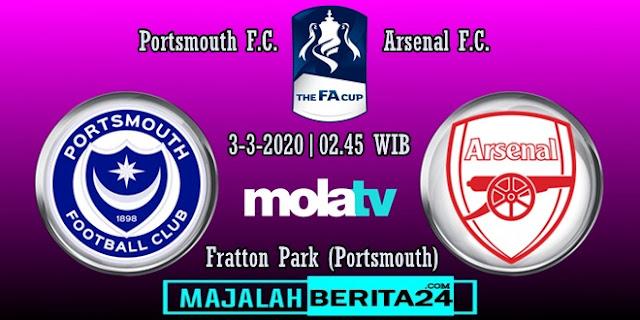 Prediksi Portsmouth vs Arsenal
