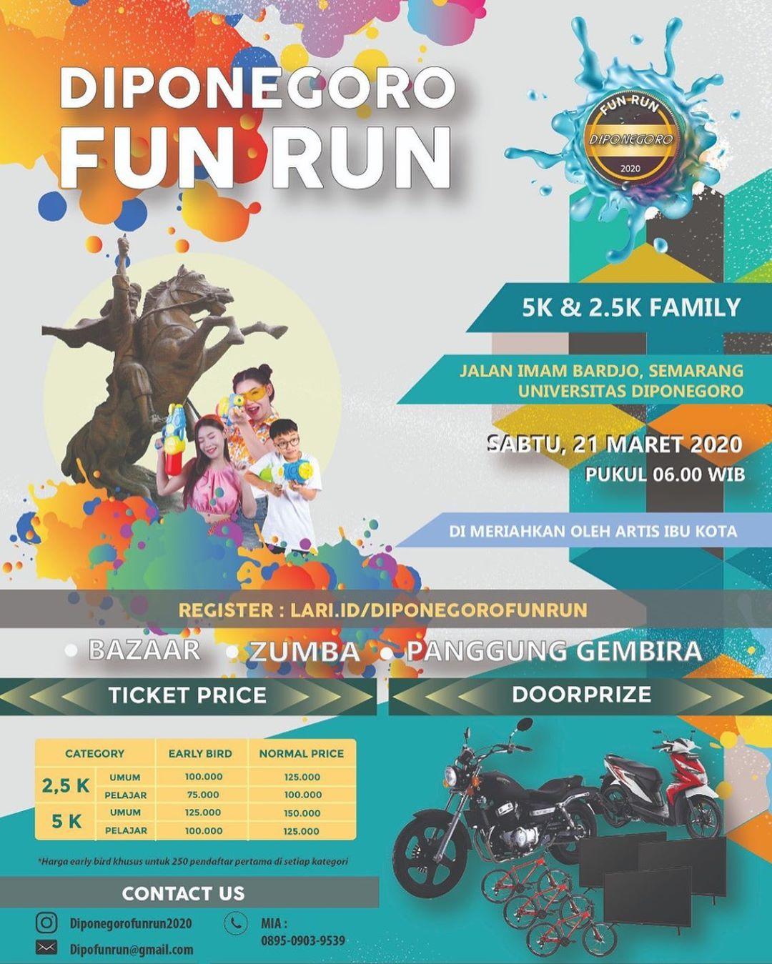Diponegoro Fun Run • 2020