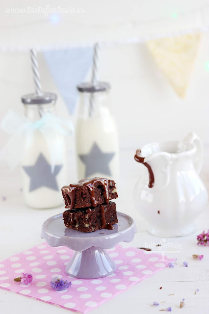 Receta Brownie Saludable