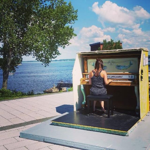 Pianos publics, Trois-Rivières