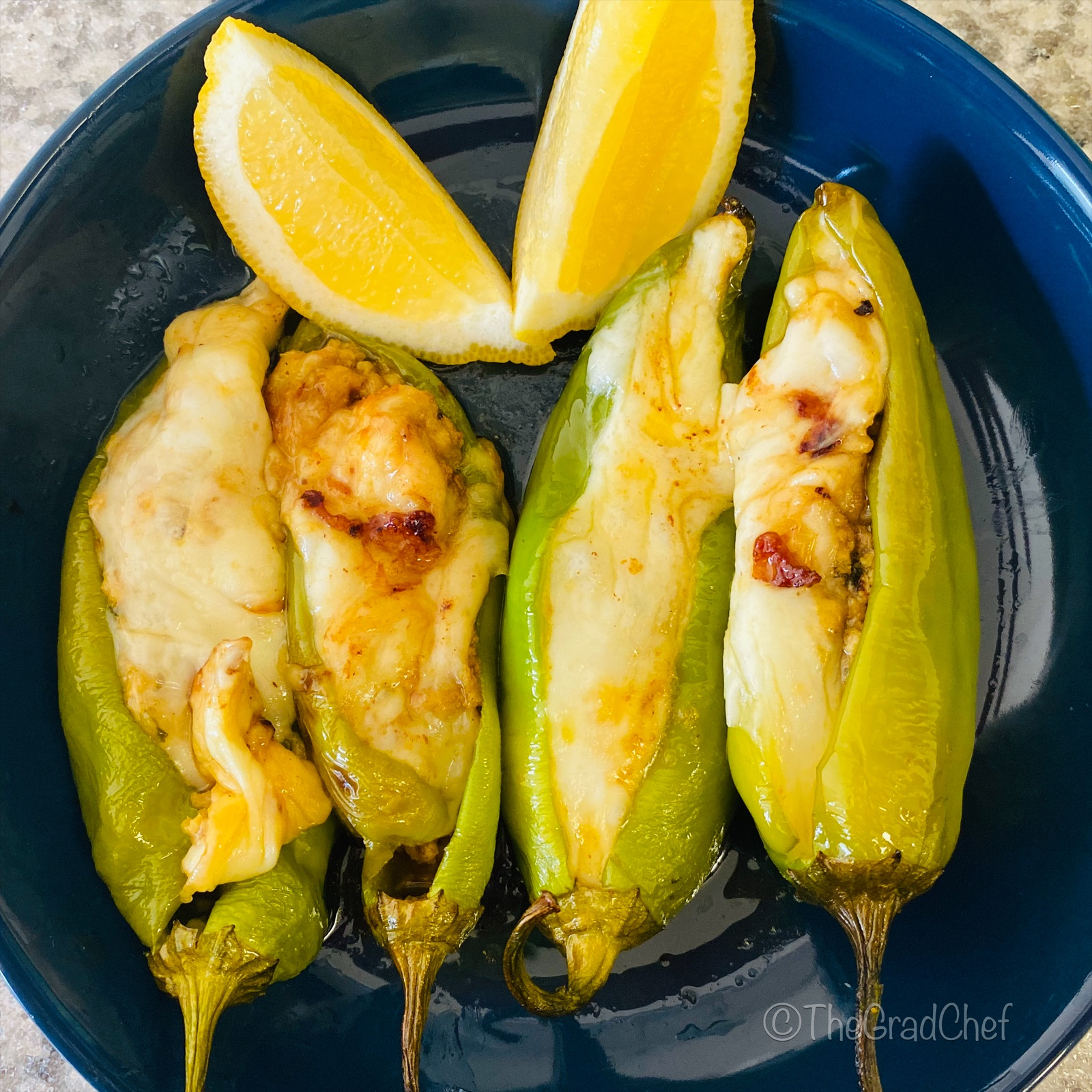 STUFFED ANAHEIM PEPPERS