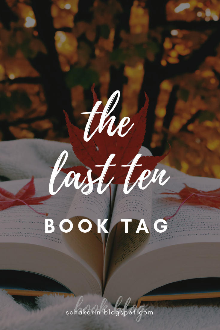 The Last Ten book tag