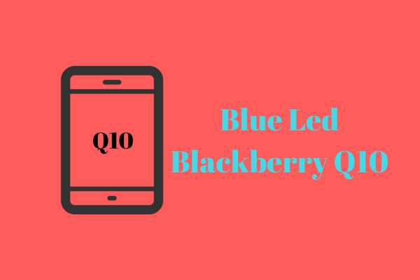 "Mengatasi ""BLUE LED"" pada Blackberry Q10"