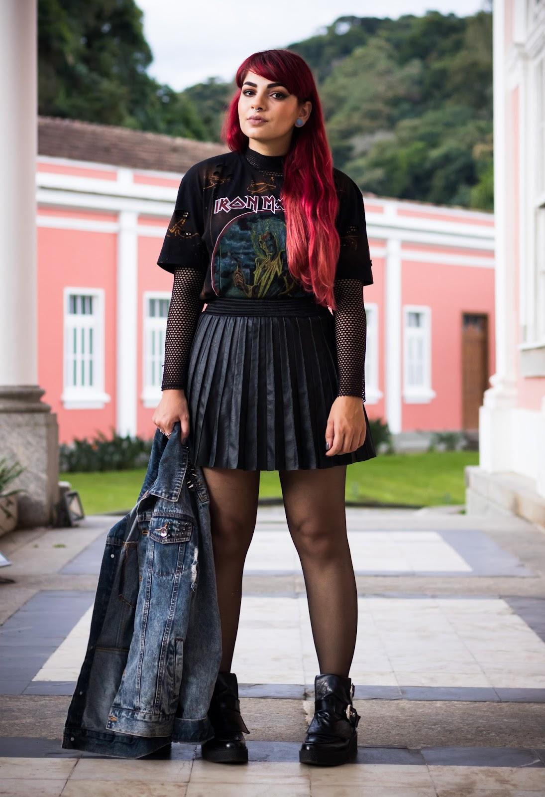 Street style legwear looks www.decoturnoespikes.com.br