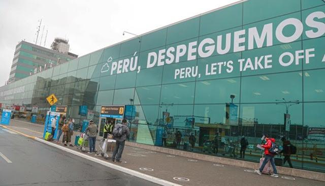 Vuelos internacionales durante cuarentena en Perú