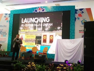 launching al-quran haji dan umrah dari syaamil quran