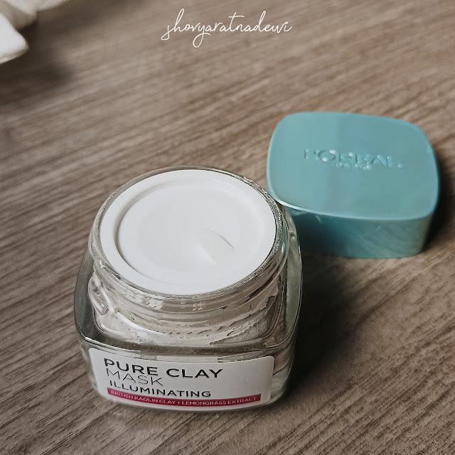 L'oreal Pure Clay Mask Illuminating