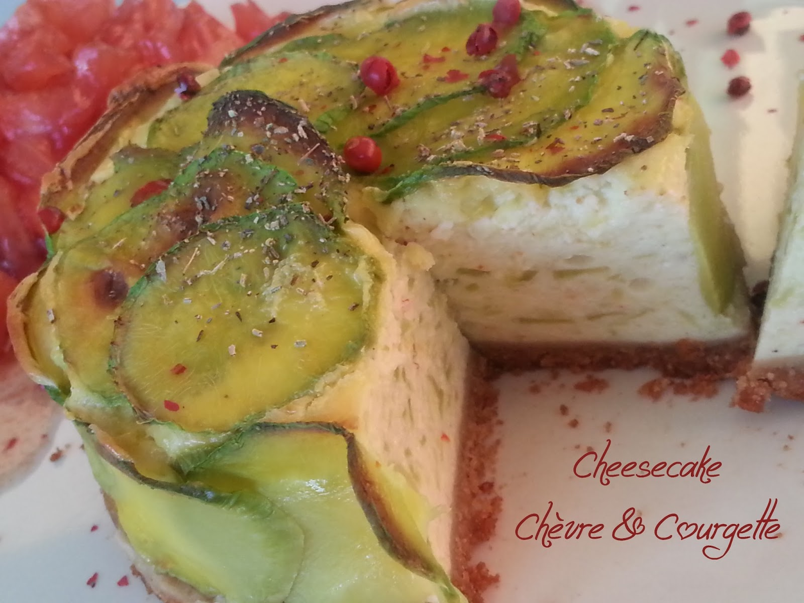 Cake Courgette Herbe Provence
