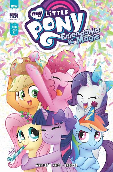 My Little Pony Comic #100 Cover  B