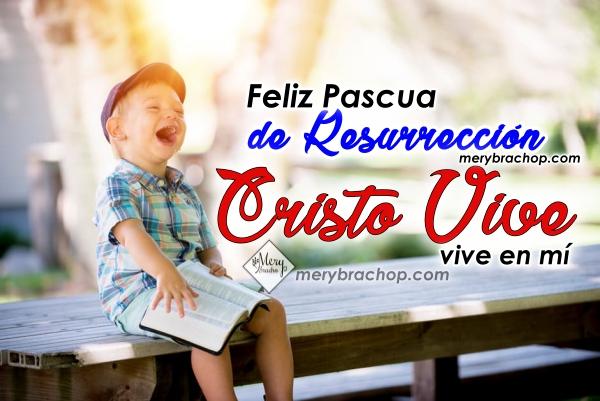 Video de feliz pascua de resurrección, imagen con video de semana santa, resurrección de Jesús. Video cristiano por Mery Bracho
