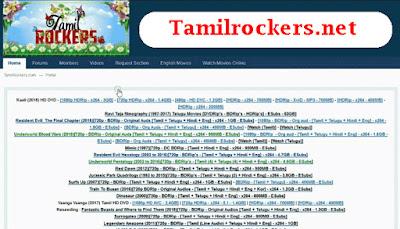Tamilrockers.net- 2020 HD Tamil Telugu Movies Tamilrockers net