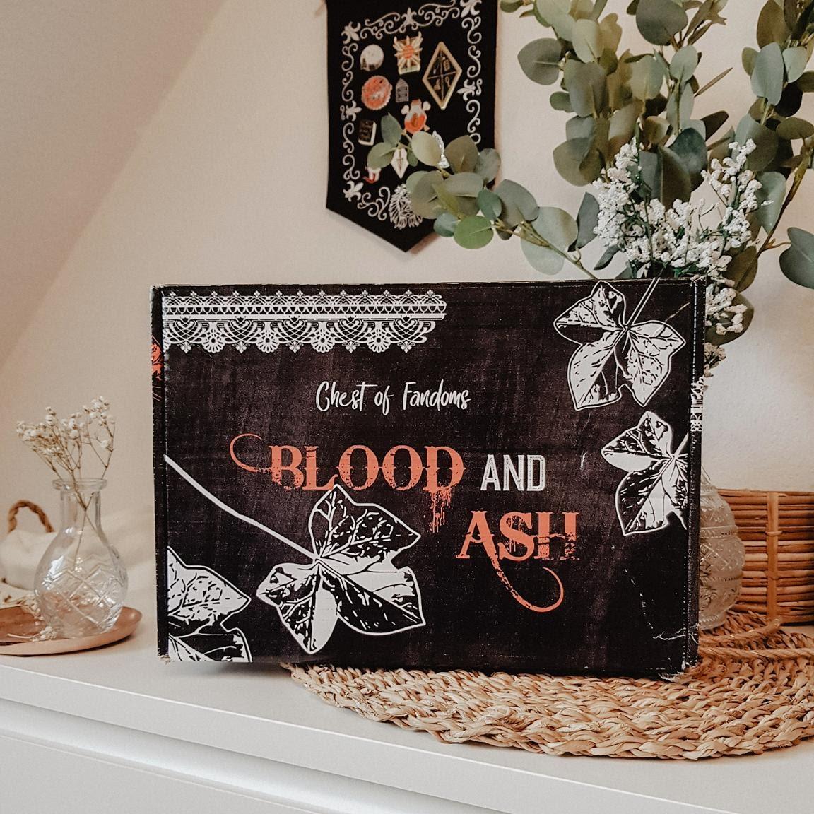 Bücherblog. Unboxing - Part 1. Chest of Fandoms - Blood & Ash Spezial Box. Jennifer L. Armentrout. FBAA.