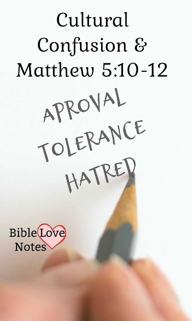 Our culture is demanding approval for things that break God's heart. They've replaced tolerance with hatred.