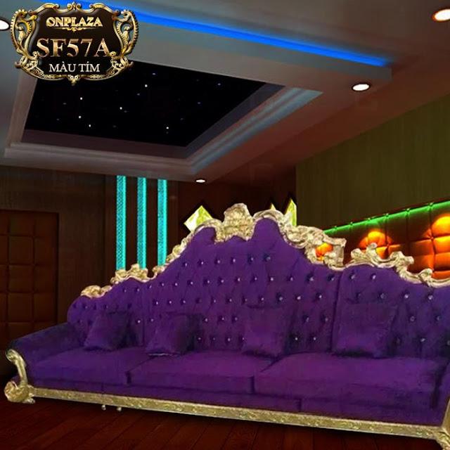 Ghế sofa phong cách tân cổ điển SF57A