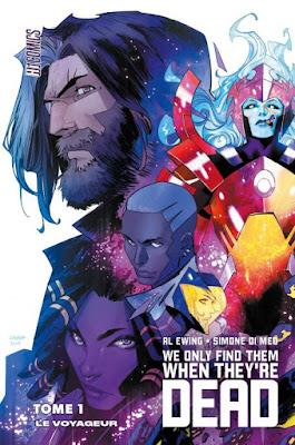 couverture du tome 1 avec l'ensemble des personnages de l'histoire