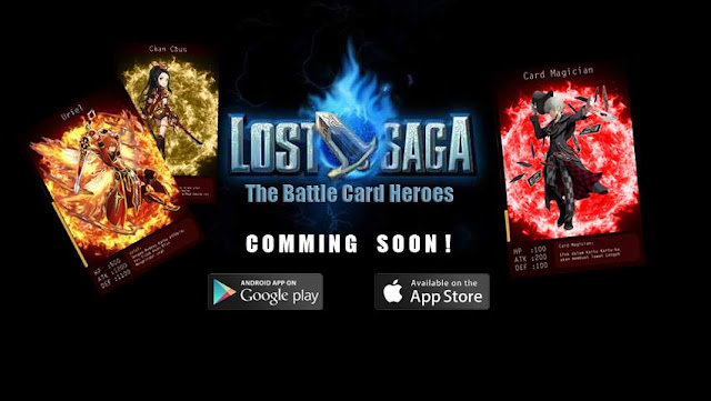 Lost Saga The Battle Card Android Game