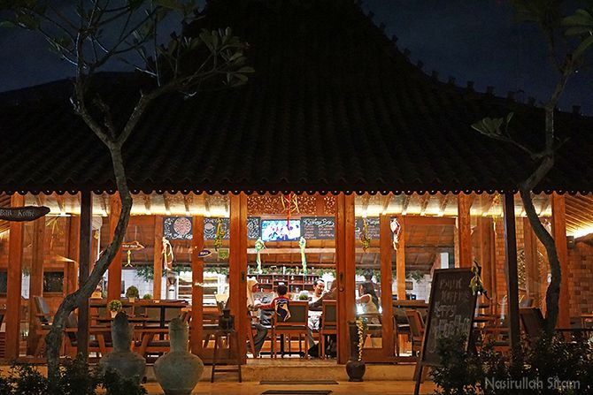 Joglo tempat Bilik Koffie Jogja