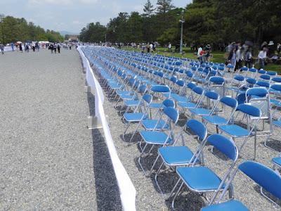 京都御苑・葵祭 有料の観覧席