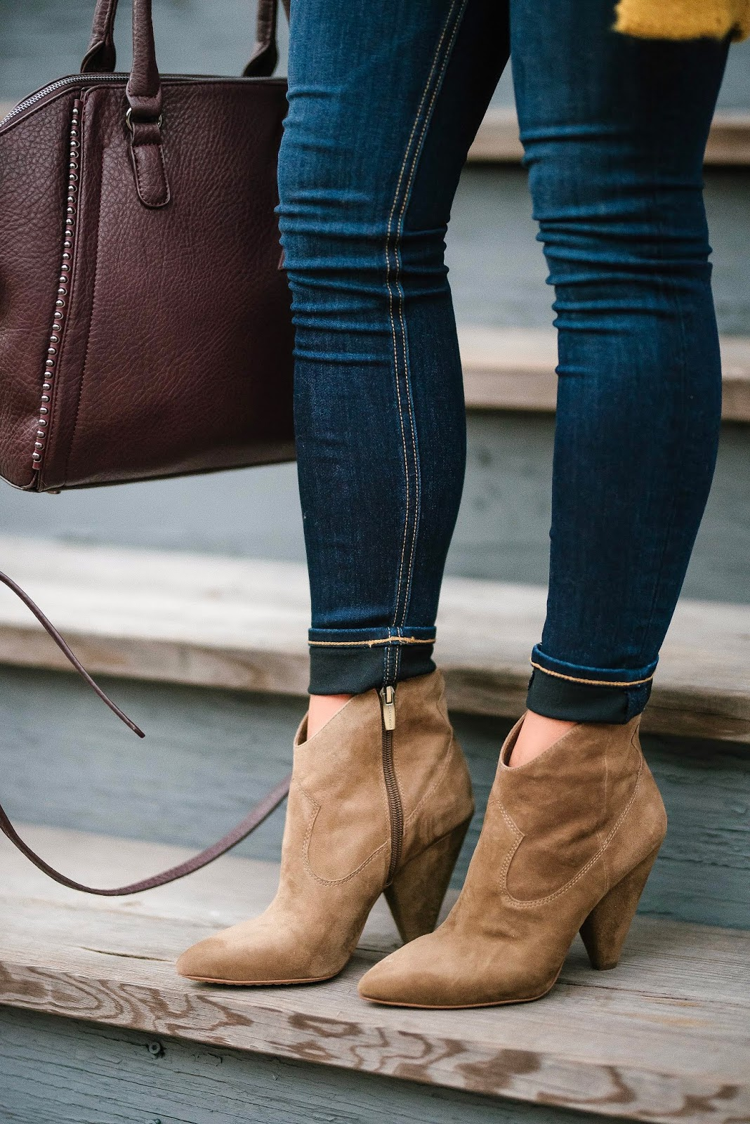 Western Style Booties (that are 40% off!) - Something Delightful Blog
