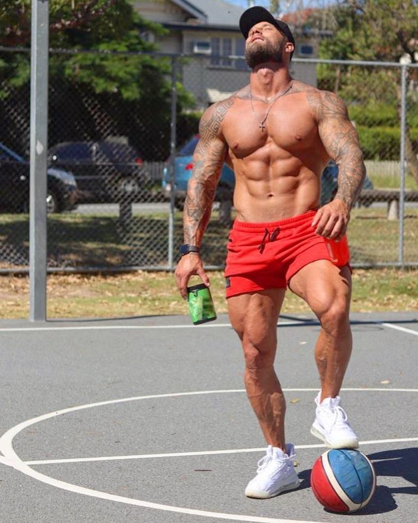 strong-muscular-man-zac-smith-shirtless-masculine-stud-alpha-male-sexy-basketball-player