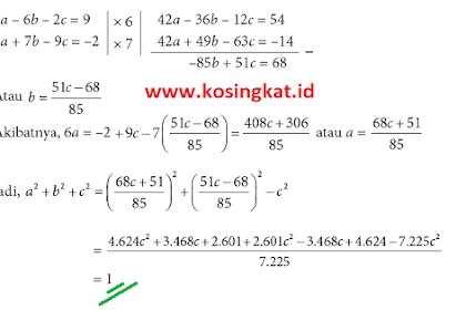 Kunci Jawaban Matematika Kelas 10 Halaman 55, 56 Uji Kompetensi 2.1