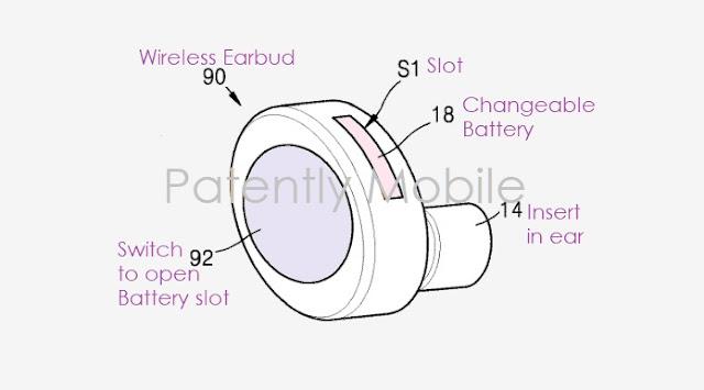 سماعات الأذن اللاسلكية من سامسونج بنظام بطارية سهل التغيير